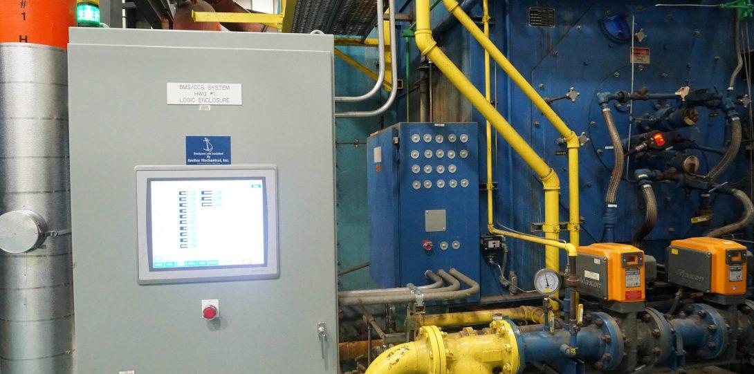 HTHW Generator Control Panel